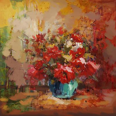 Floral 16b Print by Mahnoor Shah