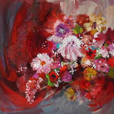 Floral 18 Original by Mahnoor Shah