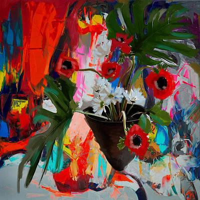 Floral 3 Original by Mahnoor Shah
