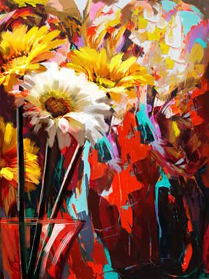 Floral 5b Original by Mahnoor Shah