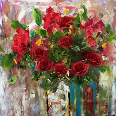 Floral 7 Original by Mahnoor Shah