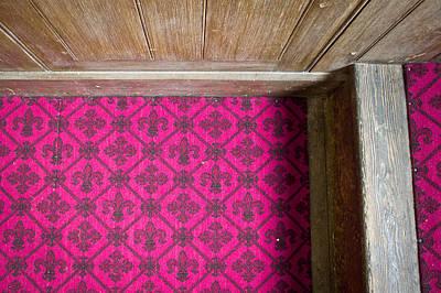 Floral Carpet Print by Tom Gowanlock