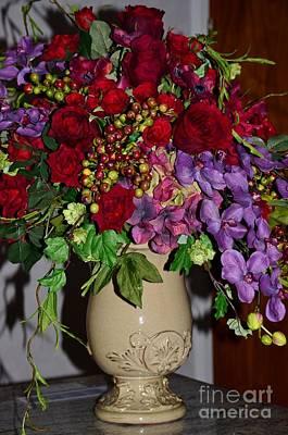 Floral Decor Print by Kathleen Struckle