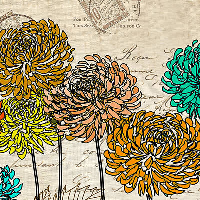 Floral Delight IIi Print by Lourry Legarde