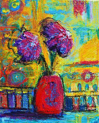 Floral No. 12 Original by Patricia Awapara