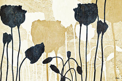 Simplicity Mixed Media - Floral Simplicity Garden by Patricia Pinto
