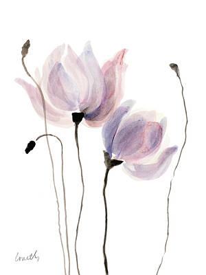Floral Sway I Print by Lanie Loreth