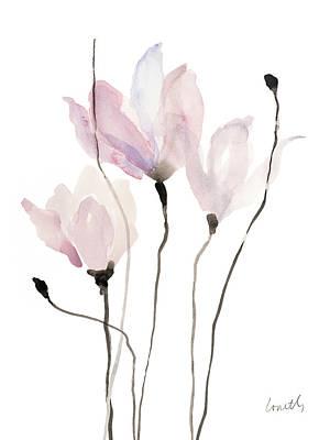 Floral Sway II Print by Lanie Loreth