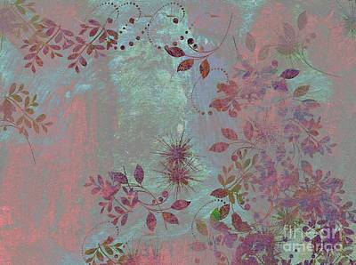 Floralities - 11c98t01 Print by Variance Collections