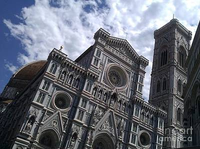 Photograph - Florence Cathedral  by Ted Williams