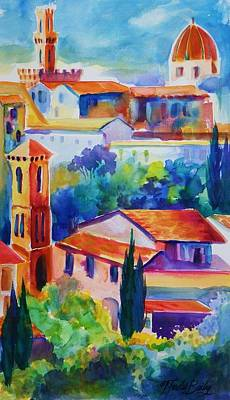 Painting - Florence Italia Fresh  Prints by Therese Fowler-Bailey