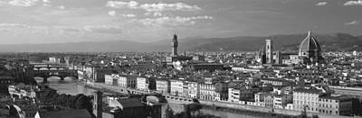City Center Photograph - Florence Italy by Panoramic Images