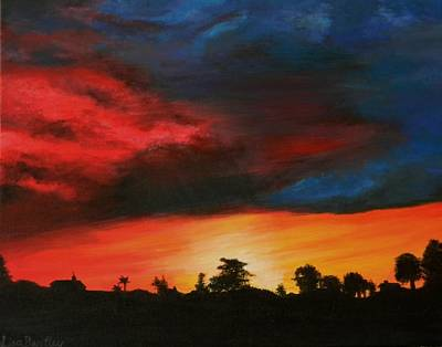 Florida Sunset Print by Lisa Bentley