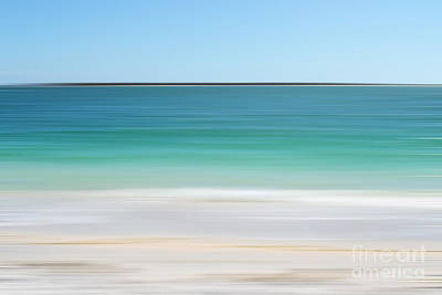 Florida Tropical Ocean Abstract Print by Andrea Hazel Ihlefeld