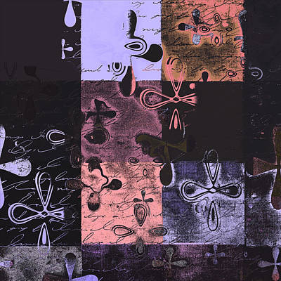 Modern Abstract Digital Art Digital Art - Florus Pokus 02e by Variance Collections