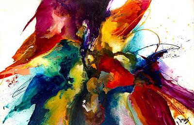 Asheville Painting - Flourish IIi by Jonas Gerard
