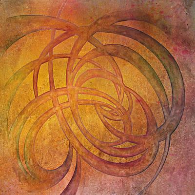 Inktense Painting - Flow #4 by Ellen Starr