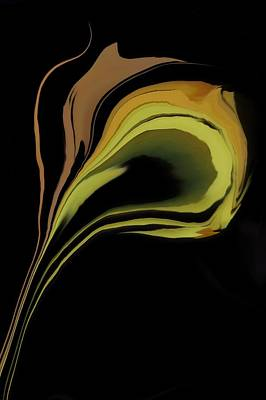 Abstract Digital Digital Art - Flower Abstract by Art Spectrum