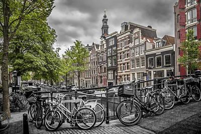 Flower Ring Photograph - Amsterdam Flower Canal by Melanie Viola