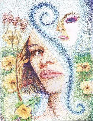 Flower Children Original by William Killen