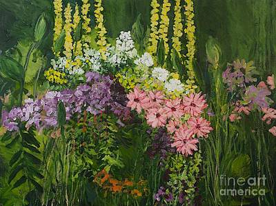 Nature Painting - Flower Dance by Allan P Friedlander