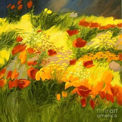 Flower Fantasy Print by Madeleine Holzberg