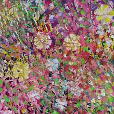 Flower Power Original by Katie Black