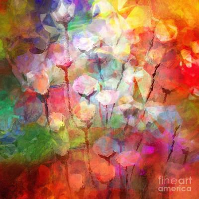 Serenade Painting - Flower Serenade by Lutz Baar
