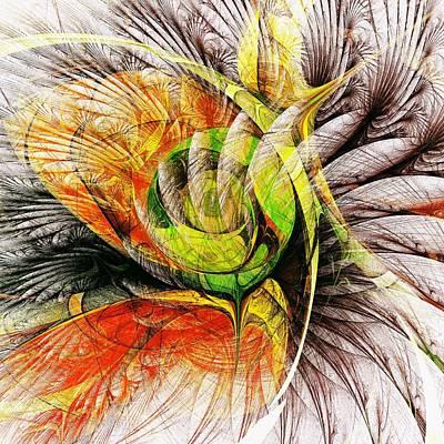 Flower Spirit Print by Anastasiya Malakhova
