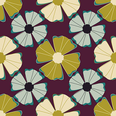 Flowers 1 Print by Lisa Noneman