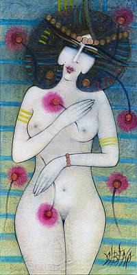 Painting - Flowers by Albena Vatcheva