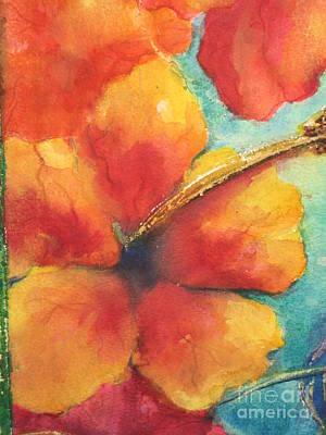 Flowers In Bloom Print by Chrisann Ellis
