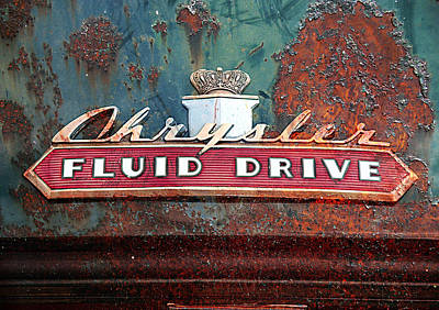 Rusted Cars Digital Art - Fluid Drive by Greg Sharpe