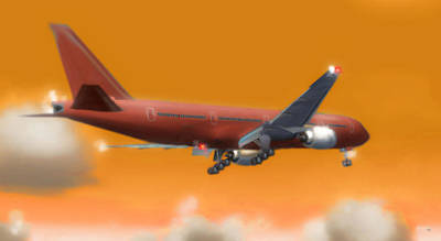 Airliners Mixed Media - Fluid Dynamics by Marcello Cicchini