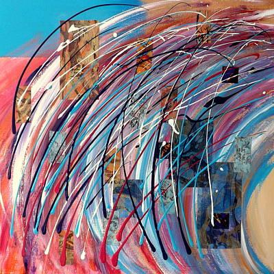 Multimedia Mixed Media - Fluid Motion by Darren Robinson
