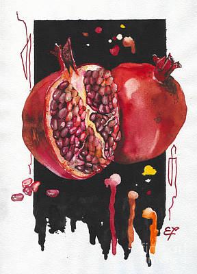 Snail Painting - Fluidity 8 - Elena Yakubovich by Elena Yakubovich