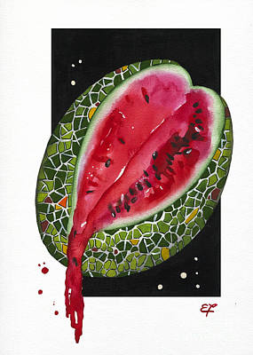 Painting - Fluidity 9 - Elena Yakubovich by Elena Yakubovich