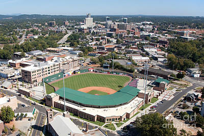 Fluor Field At The West End Greenville Print by Bill Cobb