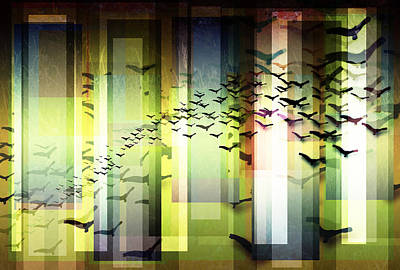 Trendy Digital Art - Fly By Dawn by Stacey Clarke