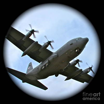 C130 Photograph - Fly By by Rick  Monyahan