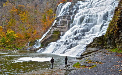 Finger Lakes Photograph - Fly Fishing by Frozen in Time Fine Art Photography