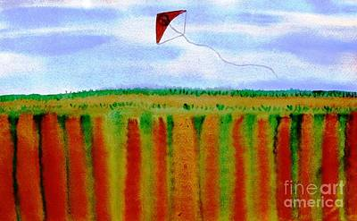 Painting - ...fly For Peace And Freedom... by Jutta Gabriel