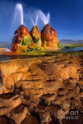 Algae Photograph - Fly Geyser by Inge Johnsson