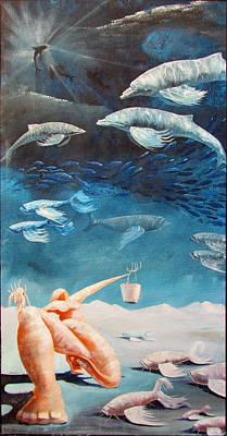 Flying Fish Original by Kevin Escobar