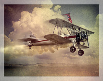 Oldzero Photograph - Flying High by Steve Benefiel