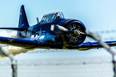 Flying Low Print by Randy Scherkenbach