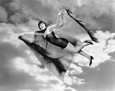 Actor Photograph - Flying Margaret Livingston by Underwood Archives