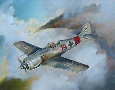 Focke Wulf Fw-190 Original by Stuart Swartz