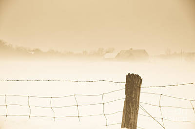 Nature Photograph - Fog Of Yesteryear by Cheryl Baxter