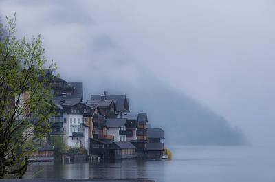 Hallstatt Photograph - Foggy Hallstatt by Kurt Golgart